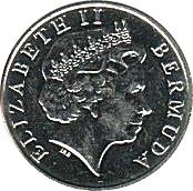 5 Cents - Elizabeth II (4th portrait) – obverse