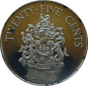 25 Cents - Elizabeth II (Hamilton) – reverse