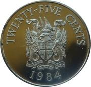 25 Cents - Elizabeth II (St. George) – reverse