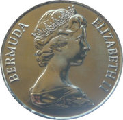 25 Cents - Elizabeth II (Southampton Parish) – obverse