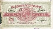 2 Shillings 6 Pence (George V) – obverse