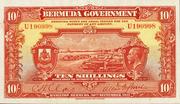 10 Shillings (George V) – obverse