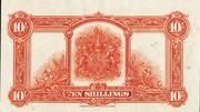 10 Shillings (George V) – reverse