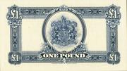 1 Pound (George V) – reverse