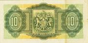 10 Shillings (George VI; green) – reverse