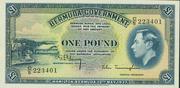 1 Pound (George VI) – obverse