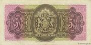 5 Shillings (George VI) – reverse