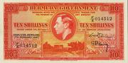 10 Shillings (George VI) – obverse