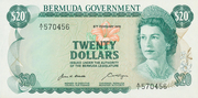 20 Dollars - Elizabeth II (Government) – obverse