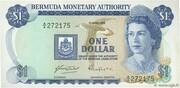 1 Dollar - Elizabeth II (Monetary Authority) – obverse