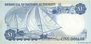 1 Dollar - Elizabeth II (Monetary Authority) – reverse