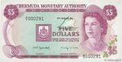 5 Dollars - Elizabeth II (Monetary Authority) – obverse