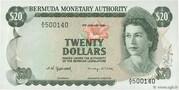 20 Dollars - Elizabeth II (Monetary Authority) – obverse