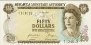 50 Dollars - Elizabeth II (Monetary Authority) – obverse