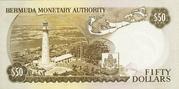 50 Dollars - Elizabeth II (Monetary Authority) – reverse