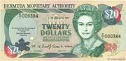 20 Dollars - Elizabeth II (Burnaby House) -  obverse