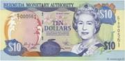 10 Dollars - Elizabeth II – obverse