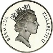 5 Cents - Elizabeth II (Silver Proof Issue) – obverse
