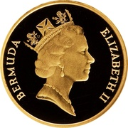 5 Cents - Elizabeth II (Gold Proof Issue) – obverse