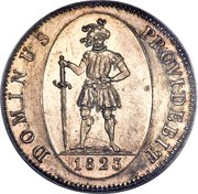 4 Francs – reverse