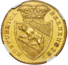 8 Ducat (Trade Coinage) – obverse