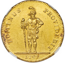 8 Ducat (Trade Coinage) – reverse