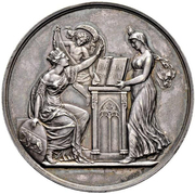 Anniversary Medal of 2 Thalers - Reformation in Bern – reverse