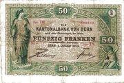 50 Francs (Kantonalbank von Bern) – obverse