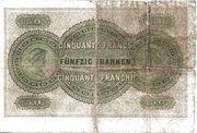 50 Francs (Kantonalbank von Bern) – reverse