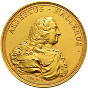 Albrecht von Haller Medal of Merit – obverse