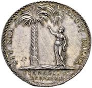 """Gymnasium Prize Medal """"Palmbaumpfennig"""" – reverse"""