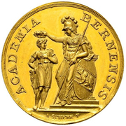 Medal of Merit of 4 Ducats – obverse