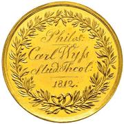 Medal of Merit of 4 Ducats – reverse
