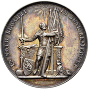 Medal - Admission of Bern to the Federal Government – obverse