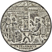 Medal - The Rustic Pharmacy – obverse