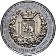 Medal -  Foundation of Bern – obverse