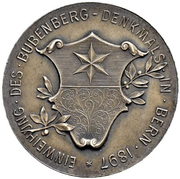 Medal - Bubenberg Monument – reverse