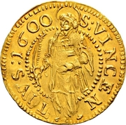 1 Ducat (Trade Coinage) – reverse