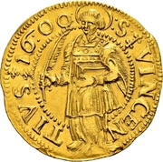 2 Ducat (Trade Coinage) – reverse