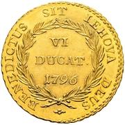 6 Ducat – reverse
