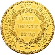 8 Ducat – reverse