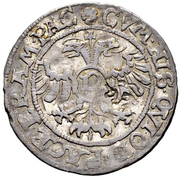 ½ Dicken (Countermarked ½ Dicken from Zug) – reverse