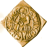 ½ Goldgulden (Klippe) – reverse