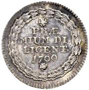 10 Kreuzers School Prize Medal – reverse