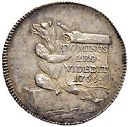 20 Kreutzers School Prize Medal – reverse
