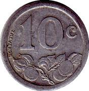 10 Centimes (Bernay) – reverse