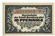10 Pfennige – obverse