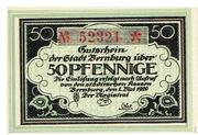 50 Pfennige – obverse