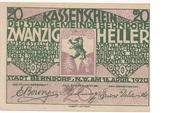 20 Heller (Berndorf) -  obverse