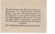20 Heller (Berndorf) -  reverse